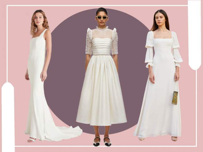 The best high street brands to buy affordable yet stylish wedding dresses