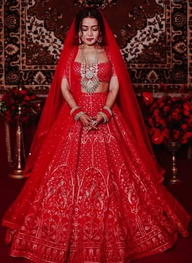 Top Bridal Wear Pick Of 2020 The Classic Red Lehenga Rules