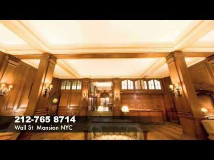 Banquet Halls ny nyc new york city manhattan Wall Street Mansion 212-765-8714