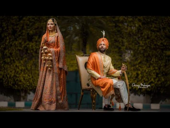 Sikh Wedding Cinematic | Anmoldeep & Samanpreet | Chirag Mahajan Photography | Punjab & Canada