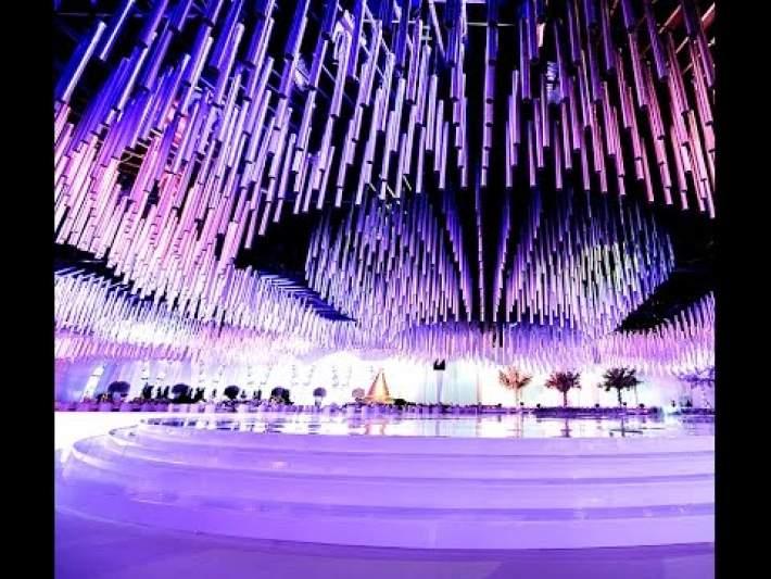 Waves of Light Wedding Planner in Dubai by EventChic Designs