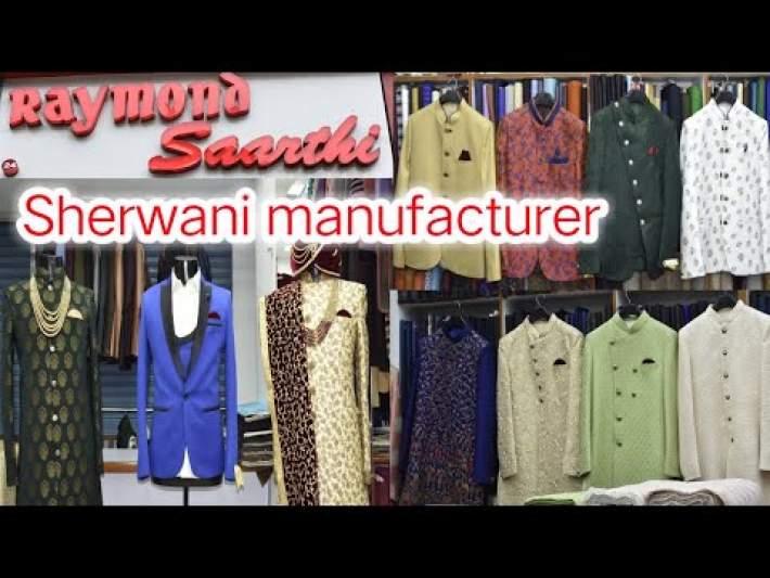 Sherwani Manufacturer In Ahmedabad | Indowestern For Men | Navabi Suits Showroom In Ahmedabad