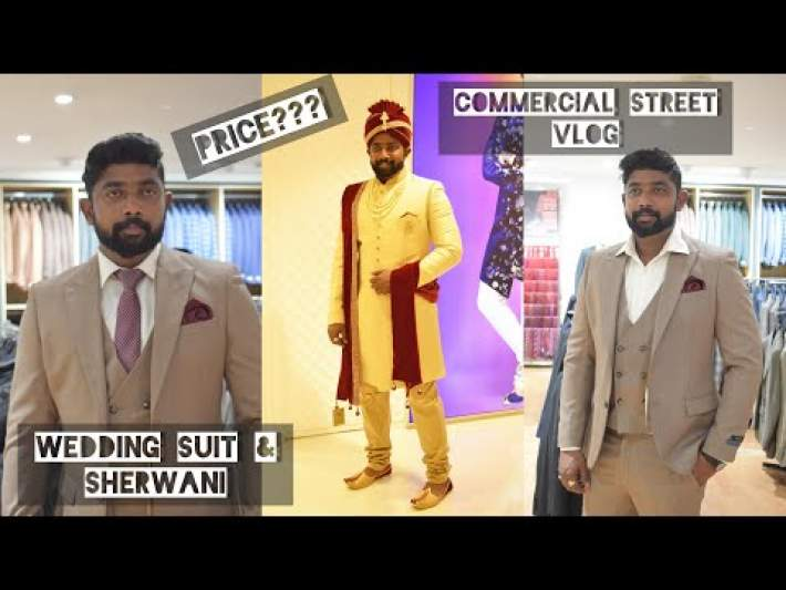 Wedding Suit & Sherwani For Groom | Bangalore | Commercial Street | Prestige The Man Store