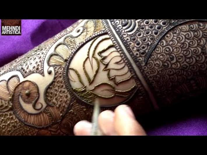 Marriage Special Easy Bharwa Floral Mehndi Design For Hand | New Mehendi Design by MehndiArtistica