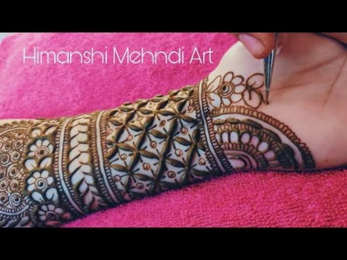 Bridal Style Mehndi Design | Henna Design | 2020 |