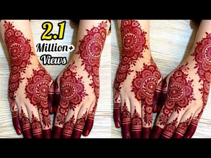 Latest Gorgeous Bridal Mehndi Design || Wedding Mehndi Designs 2020 || Artistic Henna By Saima