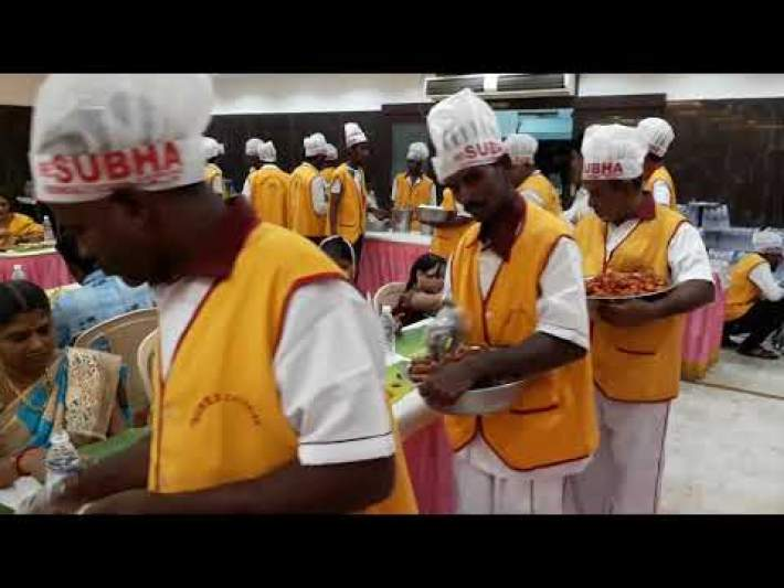 Catering Services in Chennai | Wedding Catering | Corporate Catering |  Sree Subha Catering Outdoor