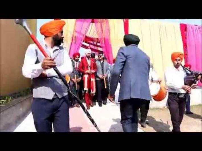 Punjabi wedding foji band | Travel with 79