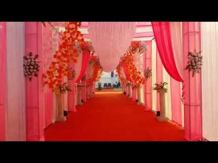 Reception Decoration || Indian Wedding Decoration || by Sattyam Flower Decorators_