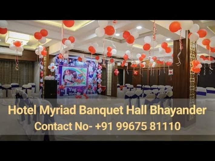 Hotel Myriad Banquet Hall Bhayander | Best Banquet Hall In Bhayander | Top Wedding Hall In Bhayander