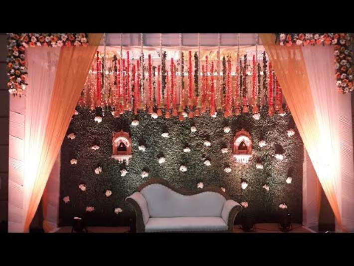 Best South Indian Wedding Decorations at V Club Banquet Hall in Gurgaon 9891478183