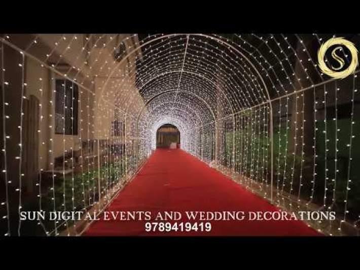 Remo arch Sun Digital Events and Wedding Decorators in Trichy Tamilnadu India