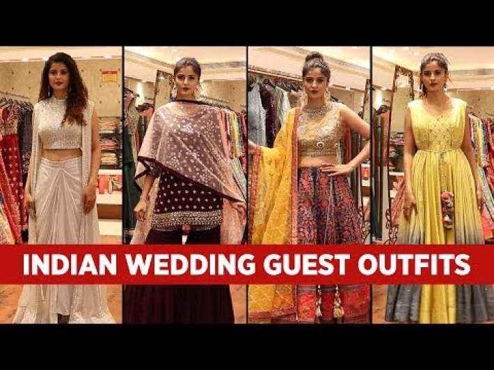 Indian Wedding Guest Outfit Ideas for women Indian Wedding Lookbook in HINDI
