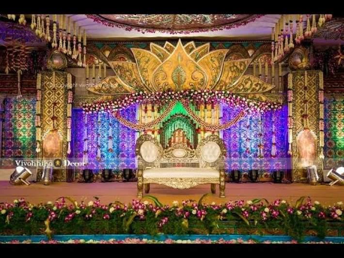 Lotus Lustre | Fusion wedding decor theme | Vivahhika Decor