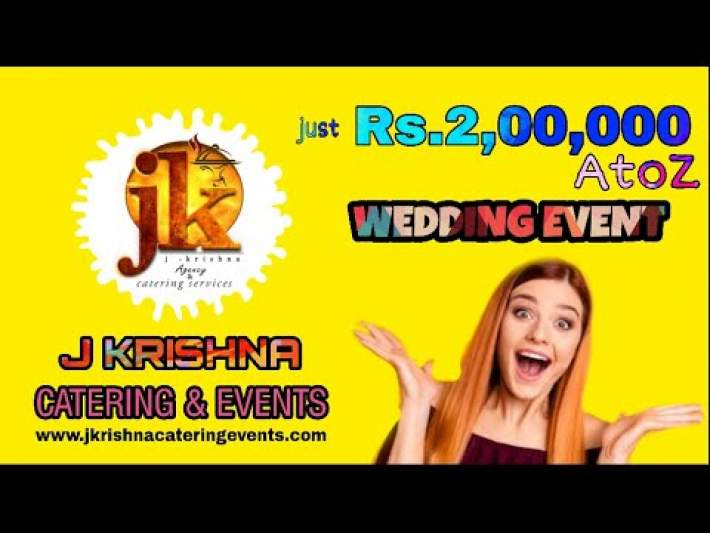 Low Budget wedding event in Chennai by J Krishna Catering Services & Event Management agency