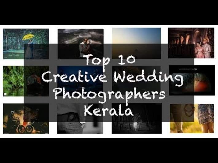 Top 10 Creative Wedding Photographers  Kerala (2018)
