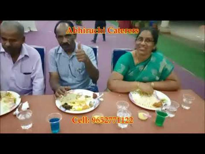Wedding Catering | Video Testimonials | Abhiruchi Caterers, Hyderabad | Cell: 9652771122