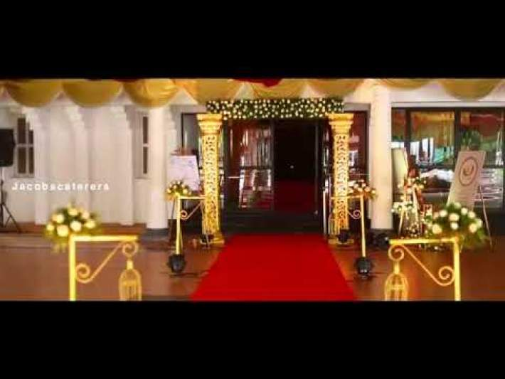Kerala Christian Wedding Reception | Jacobs Caterers | The Best Caterer in Trivandrum