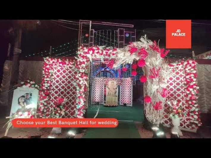 Wedding Decoration at Madhyamgram | JD Palace Banquet Hall
