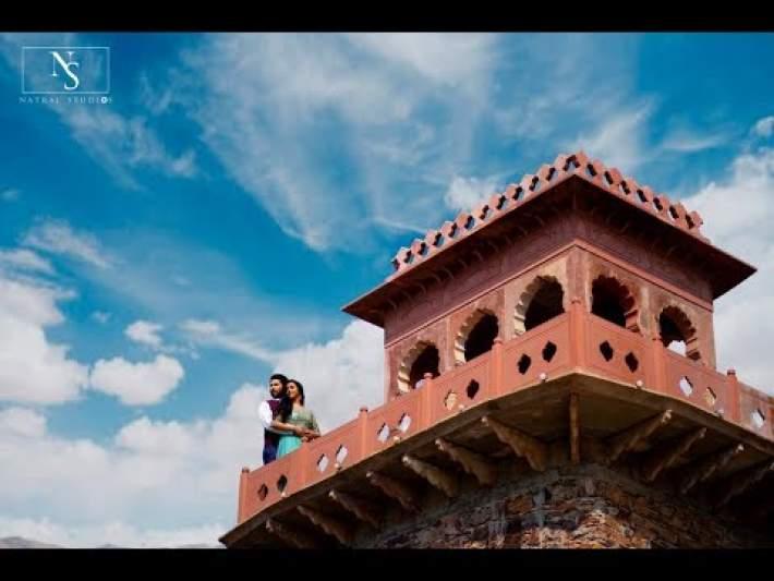 Neemrana Fort Palace Pre Wedding Of Rajat & Aishwarya