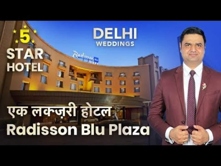 Radisson Blu Plaza Delhi Airport Plan Your Wedding Day in Fine Luxury