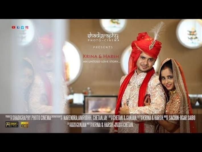 Krina & Harsh Wedding Film  | Hyatt Ahmedabad | Shadigraphy