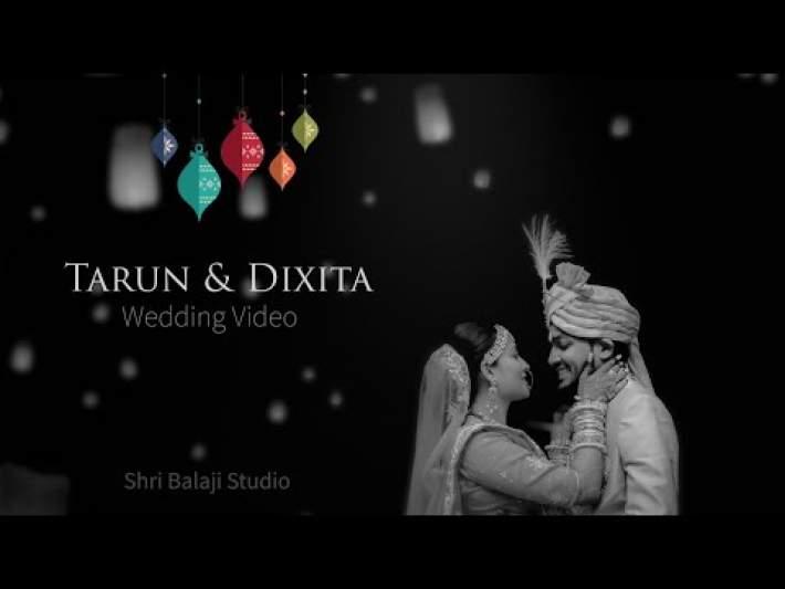 Tarun & Dixita ll Wedding Video 2020 ll Naveen Hotel Hubbli Shri Balaji Studio
