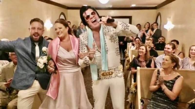 All Shook Up: Virus Hurts Helps Wedding Industry In Las Vegas