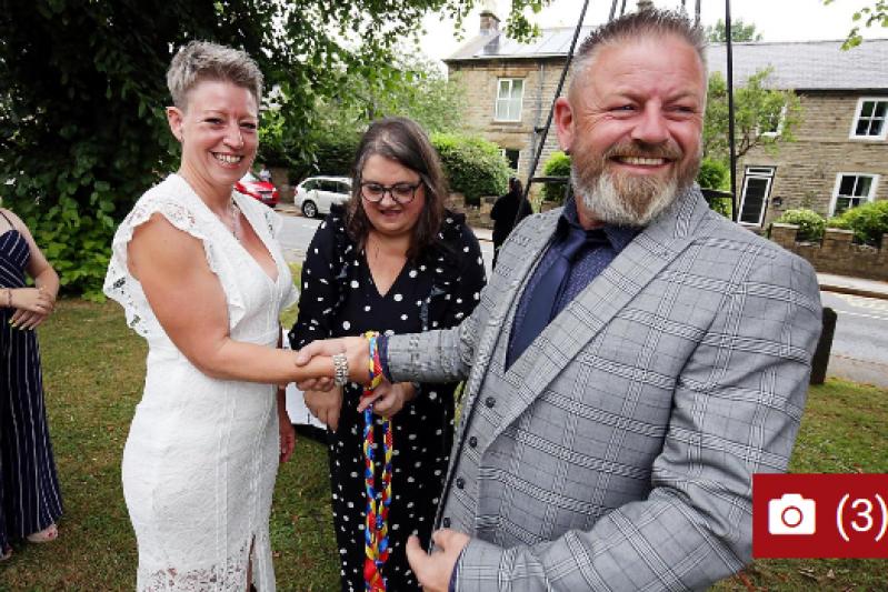 Wedding helps support beloved Frosterley pub