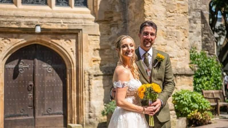 Church hosts first wedding since before lockdown