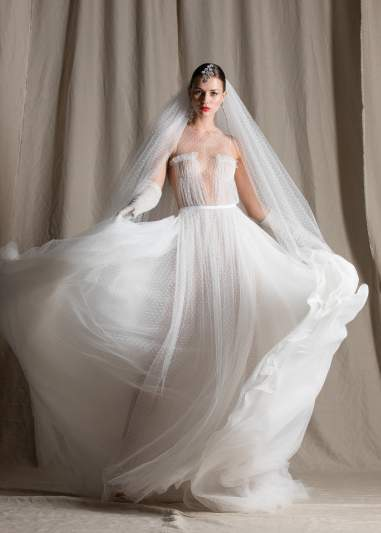 Here Comes the Bride, in Her Pre-Loved Wedding Dress From Selfridges
