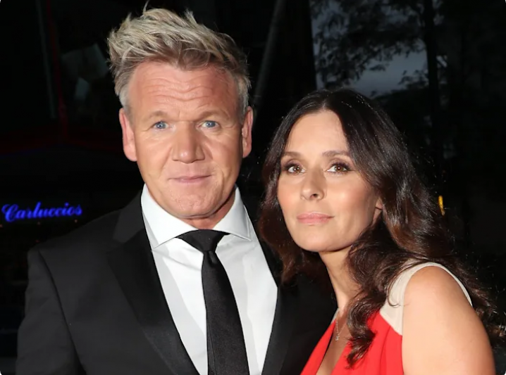 Gordon Ramsay's wife wore her wedding dress again to celebrate their 25th anniversary
