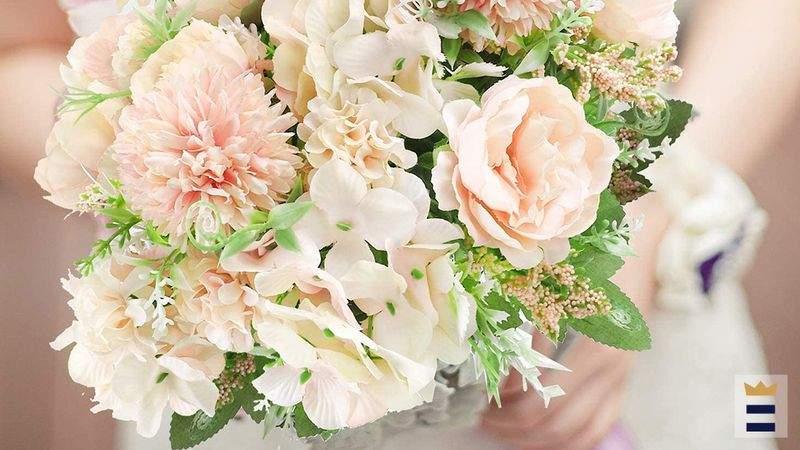 The best artificial wedding flower