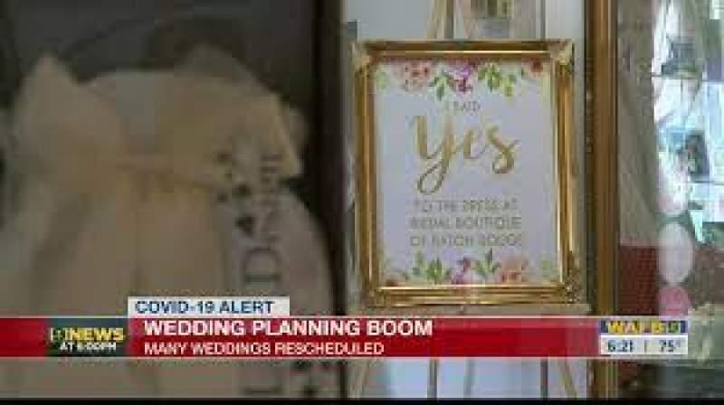 Wedding industry seeing business boom