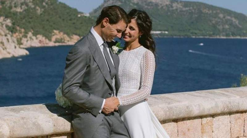 Here is who designed Rafael Nadal's wife's wedding dress