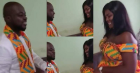 Groom Stirs Laughter With His Reply After Bride's Father Asked What He Was Going To Do To After Wedding