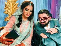 Two-foot tall Pakistani man, Bobo, gets married at a grand wedding reception in Oslo