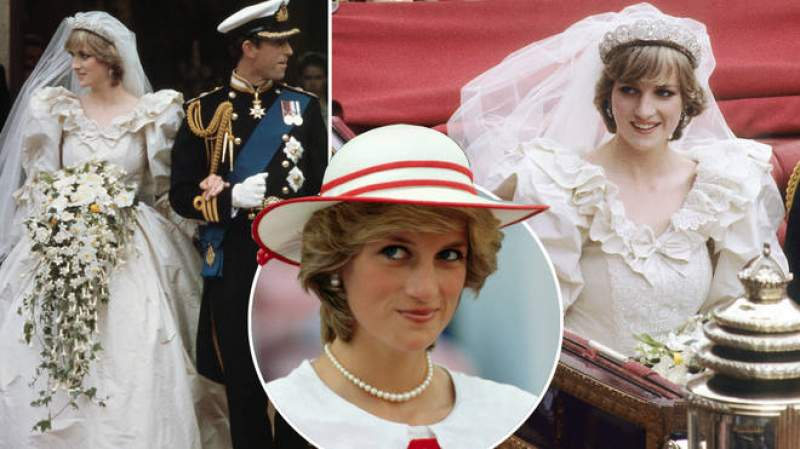 Diana's wedding dress designer reveals how she fooled the press into thinking it was pink