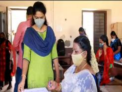 45-year-old specially-abled Kerala woman appears for class 10 exam soon after her wedding