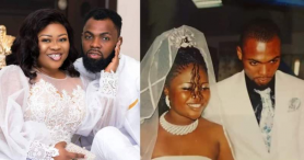 Obofour And Wife Ciara Celebrate 11th Marriage Anniversary; Photos Of Their Modest Wedding Drop