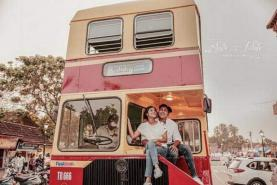 Kerala RTC offers double-decker buses on rent for wedding photoshoots