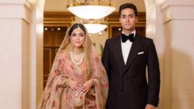 Ayesha Saif Khan's Sabyasachi rose-pink wedding lehenga is every bride's dream