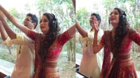 Viral: Dulhan turns DJ at her own wedding, plays peppy Punjabi songs Watch video