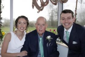 Bride donates brand new wedding dress as gratitude for late father's care