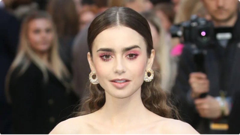 Emily In Paris star Lily Collins announces wedding news