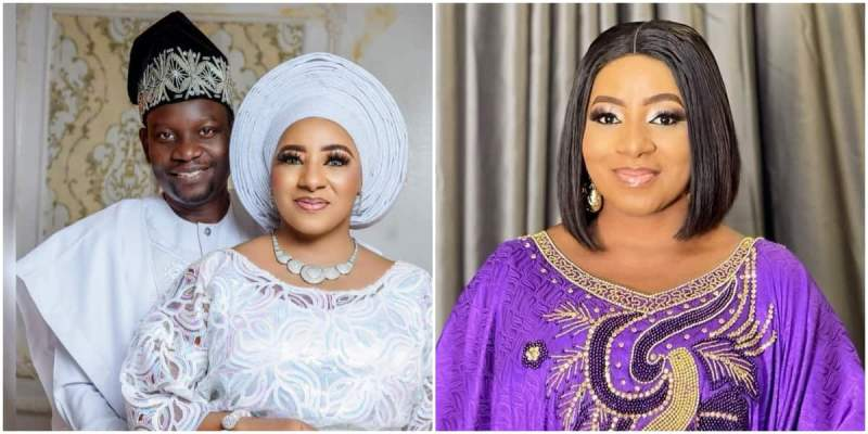 Nollywood Couple Mide Martins, Afeez Owo Celebrate 17th Wedding Anniversary With Stunning Photo