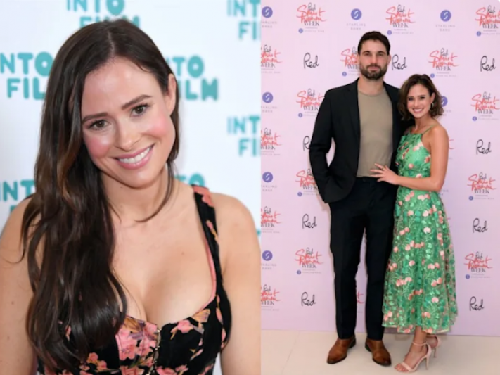 Love Island star shares very unusual wedding snap, and opens up about motherhood fears