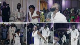 Man Dances As if He Is Fighting During Wedding Ceremony, Sprays Money With Serious Face