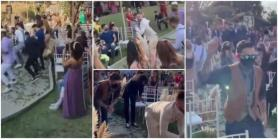 Groom Shows up At Wedding and Dances with Different Guests in Cute Choreography