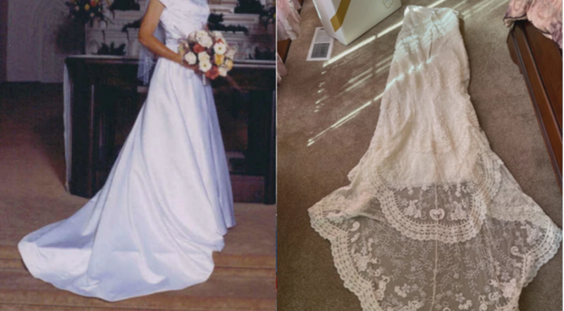 Bride discovers she has the wrong wedding dress after 17 years